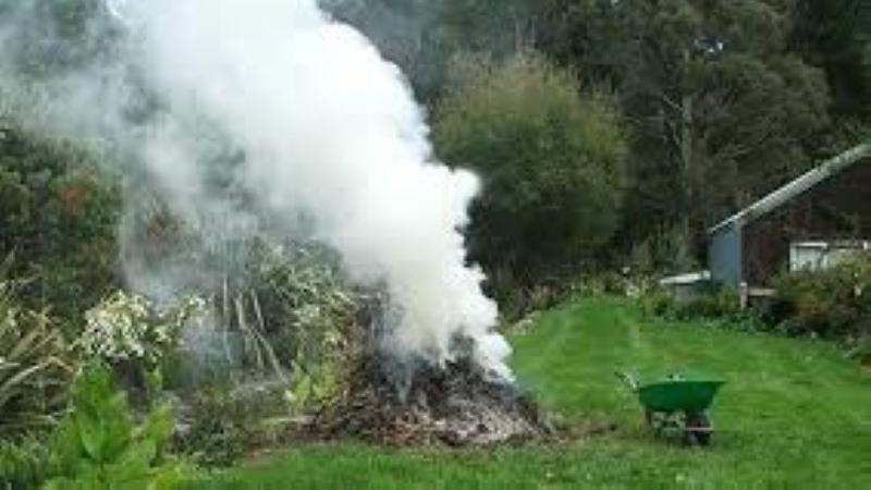 Je ne brûle pas les déchets végétaux