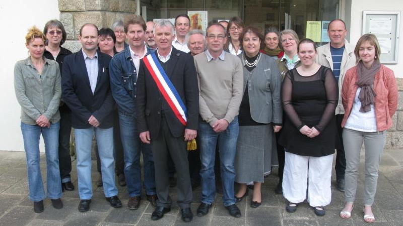 Le maire et les élus