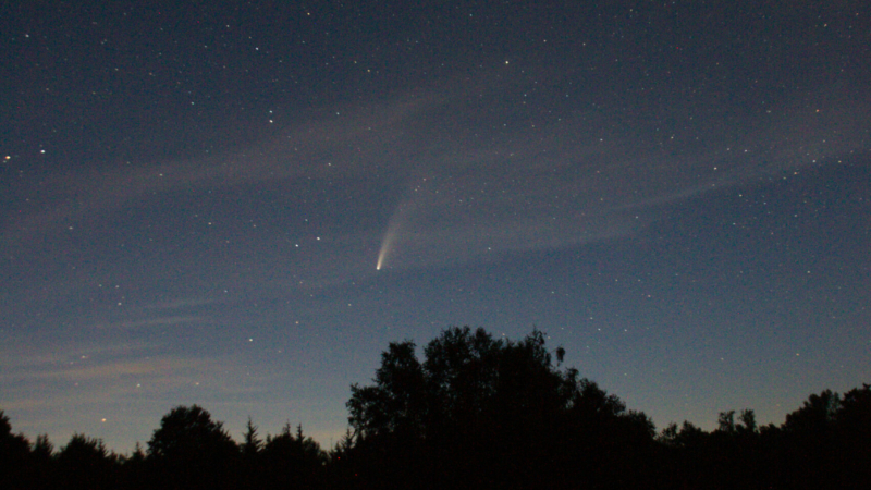 """Passage de la comète F3 C 2020 """"neowise"""""""