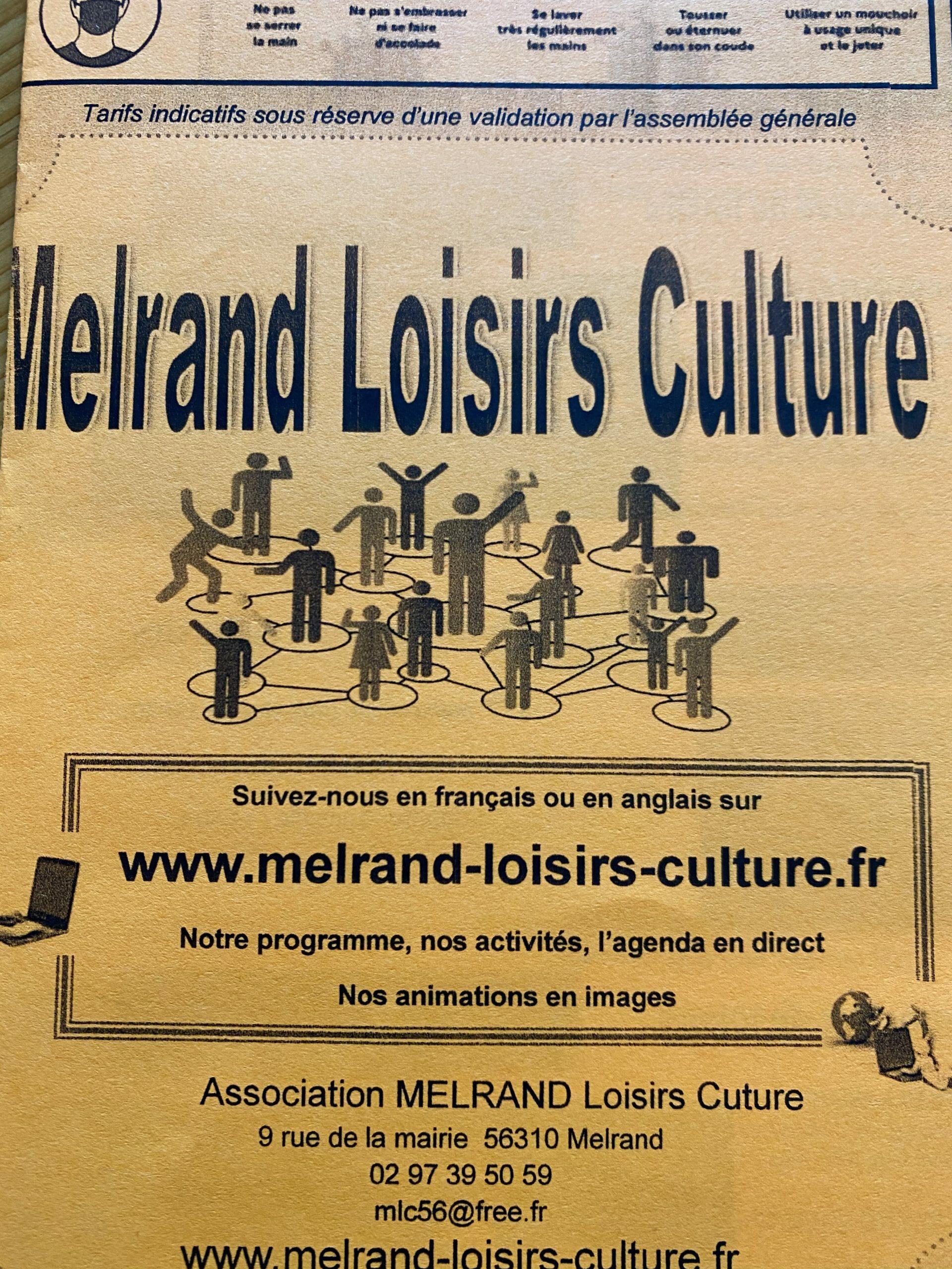 Melrand Loisirs Culture
