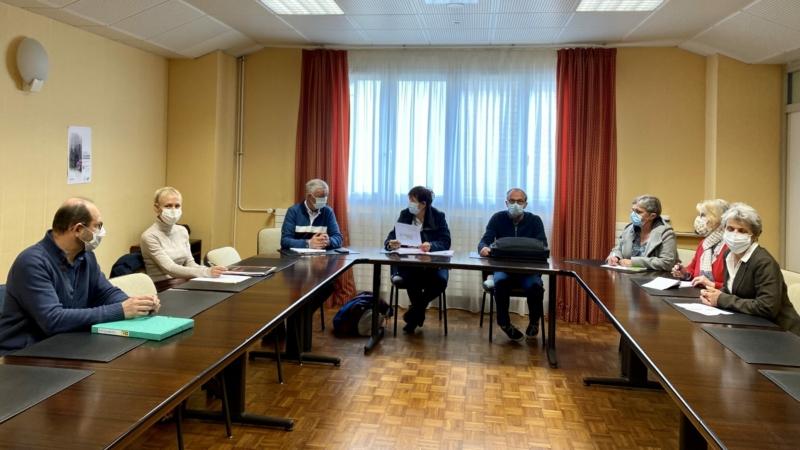 Visite de Mme Le Peih Nicole, députée du Morbihan