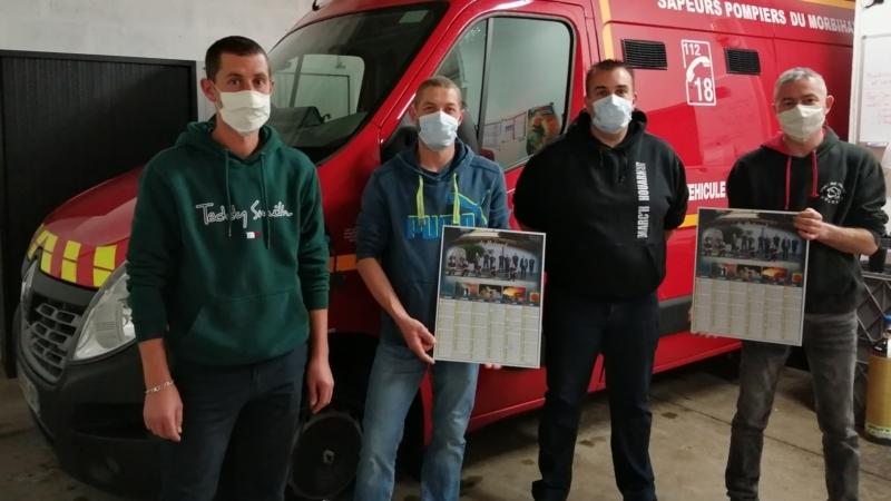 Calendriers des sapeurs pompiers