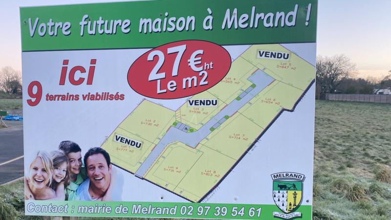 Terrains à bâtir à Melrand